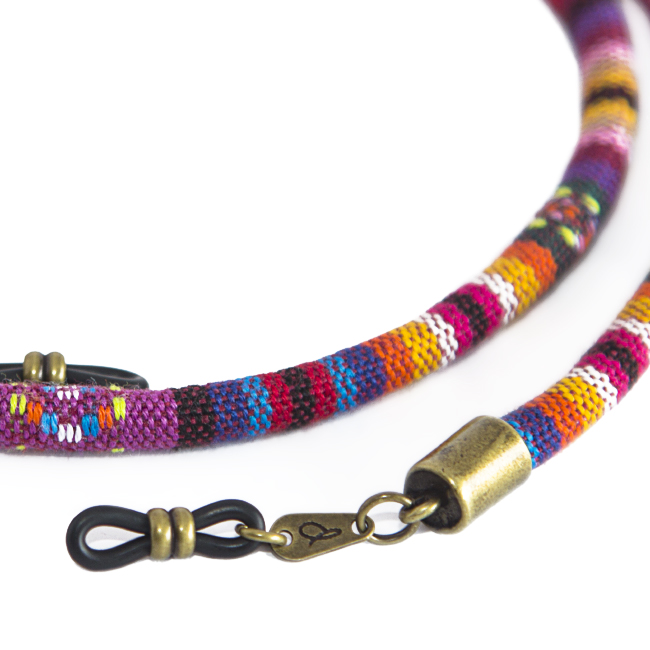 Cordón cuelga gafas estilo étnico Maya
