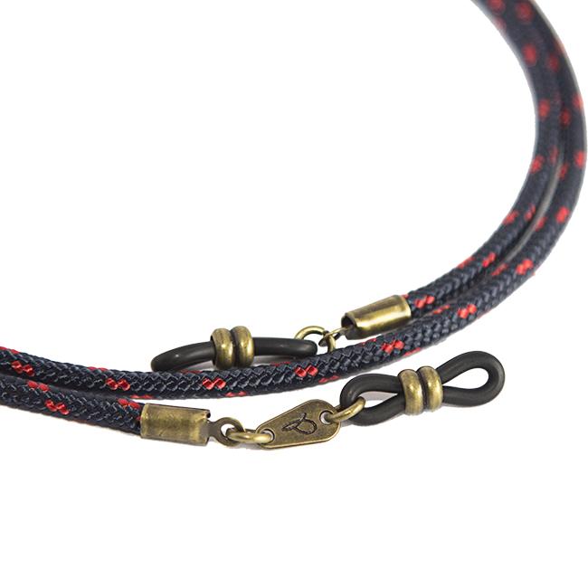Cordón cuelga gafas estilo afterwork náutico Macarella