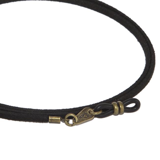 Cordón cuelga gafas estilo vintage antelina Pimienta