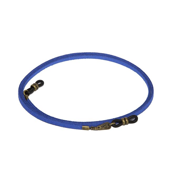 Cordón cuelga gafas estilo vintage antelina Clavo