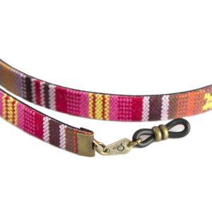 Cordón cuelga gafas estilo étnico Nanumba
