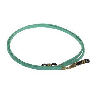 Cordón cuelga gafas estilo vintage antelina Cilantro
