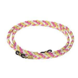 Cordón cuelga gafas estilo trenzado antelina Oahu