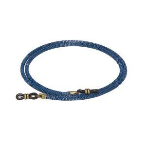 Cordón cuelga gafas de cadena tubular metálica Mitte