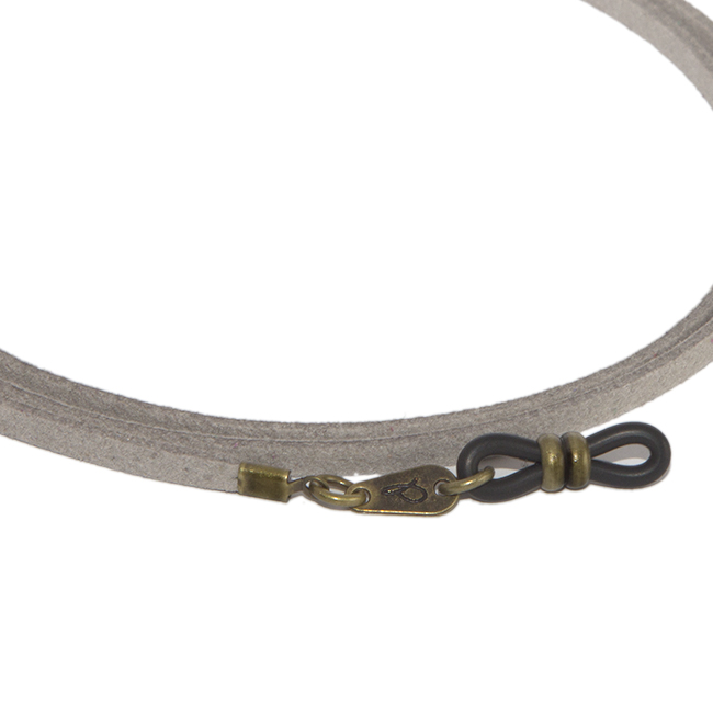 Cordón cuelga gafas estilo vintage antelina Cardamomo