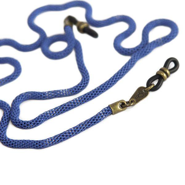 Cordón cuelga gafas de cadena tubular metálica Kita