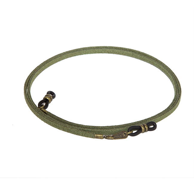 Cordón cuelga gafas estilo vintage antelina Albahaca