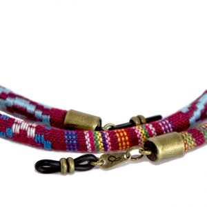 Cordón cuelga gafas estilo étnico Bambara