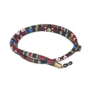 Cordón cuelga gafas estilo étnico Dinka