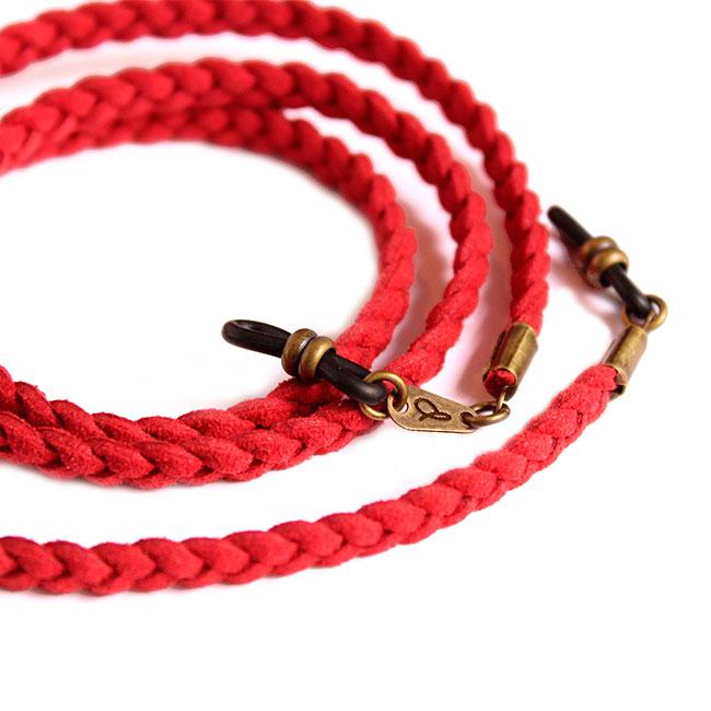 Detalle del cordón cuelga gafas Kioto