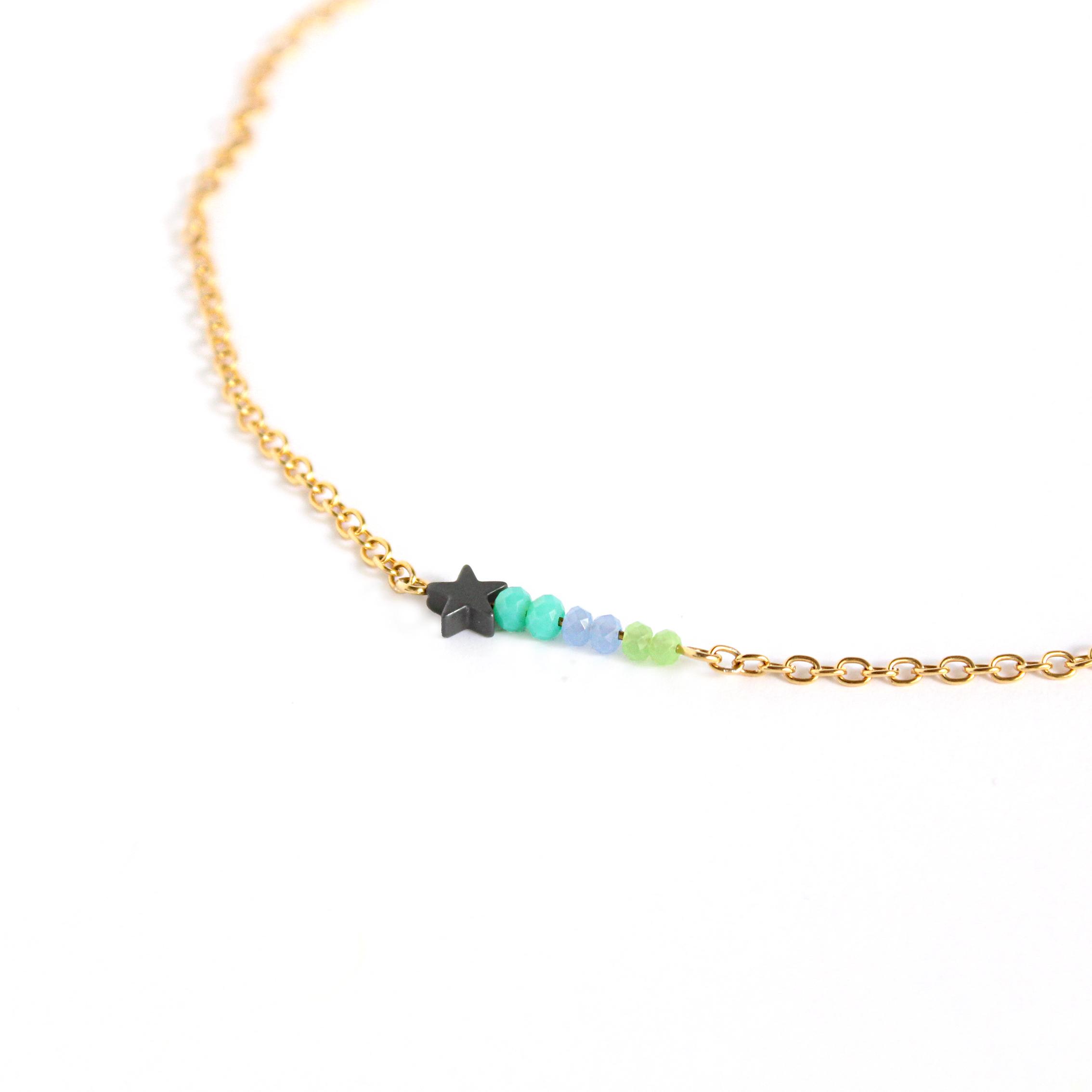 Detalle Collar con cadena de 2,3 mm de ancho Summer secrets