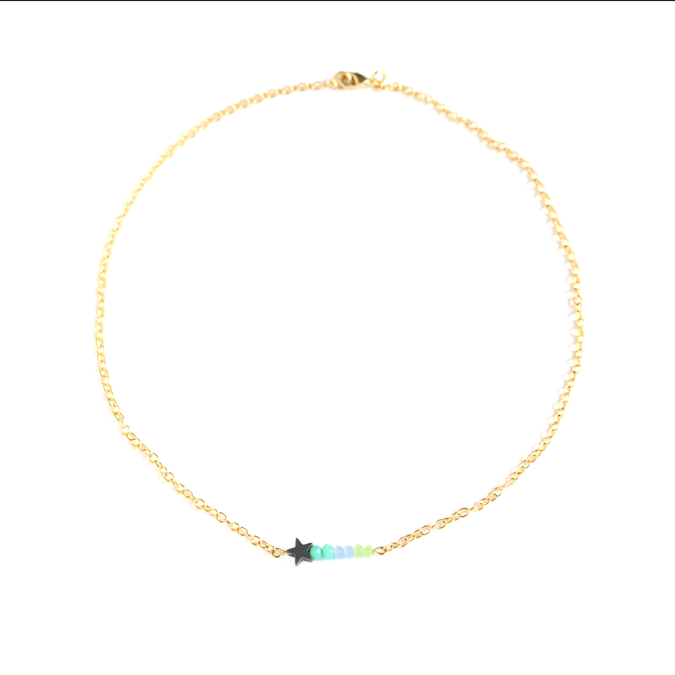Collar con cadena de 2,3 mm de ancho Summer secrets