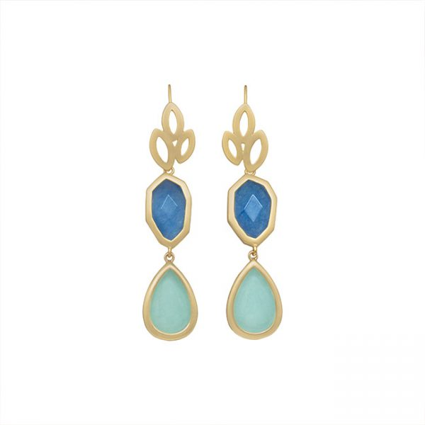 pendientes-girl-about-town-color-azul-claro-pepitas-de-oro
