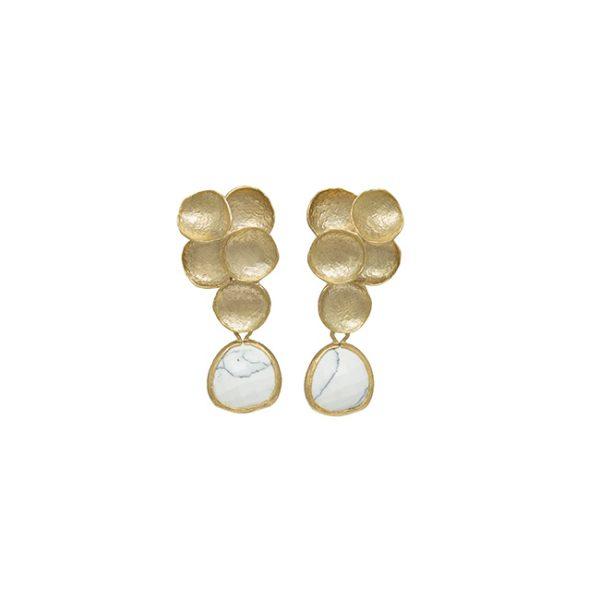 pendientes-orion-bubbles-color-marmol-blanco-pepitas-de-oro