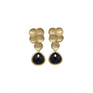 pendientes-orion-bubbles-color-negro-galaxia-pepitas-de-oro