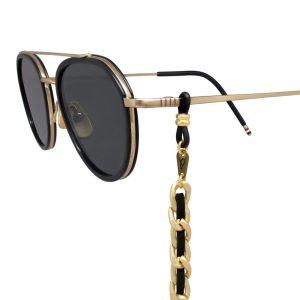 electra-dorado-y-negro-cordon-para-gafas-pepitas-de-oro