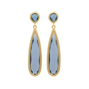 pendientes-northtears-color-azul-pepitas-de-oro