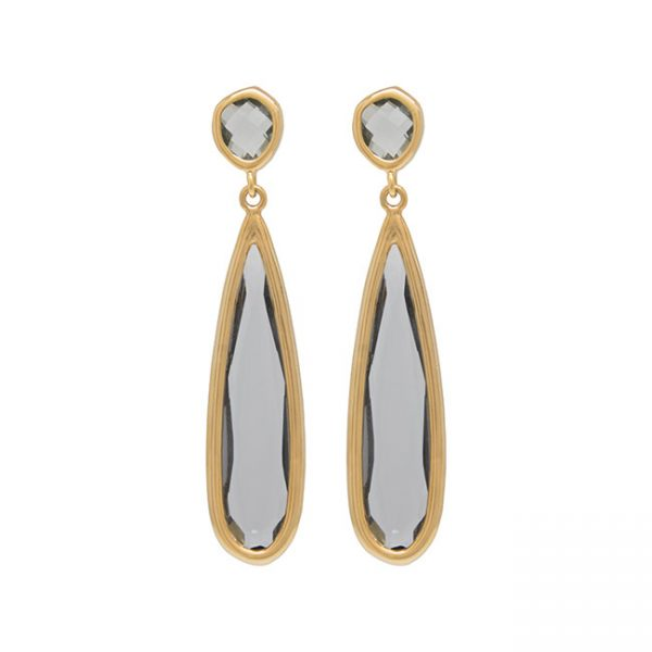 pendientes-northtears-color-gris-pepitas-de-oro