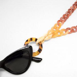 Collar cuelga gafas Atacama detalle