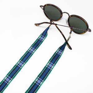 Cinta Tartán azul y verde